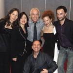 con Lorenza Guglielmi, Paolo Lepore, Mario Rosini e l'indimenticabile Daniela D'Ercole