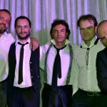 Con Giò Di Tonno, Gaetano Partipilo e Mario Rosini